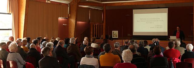 Conférence Protestantisme dans l'Eure